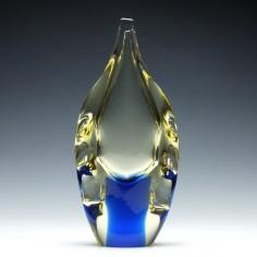 Miloslav Klinger Art Glass Vase c1960