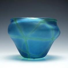 Roger Tye Phoenix Glass Studio Vase