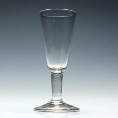 Georgan Plain Stem Ale Glass c1740
