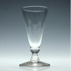18th Century Dwarf Ale Glass c1760