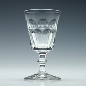 Stuart Crystal Port Glass c1940