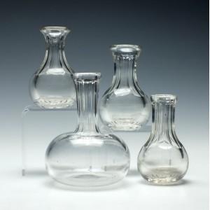 Four Victorian Spirit Measures c1860