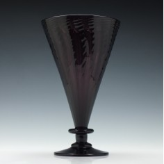 John Walsh Amethyst Glass Vase c1930