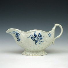 John Pennington Liverpool Porcelain Moulded Sauce boat c1775