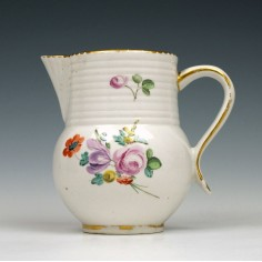 Derby Porcelain Floral Decorated Creamer c1790