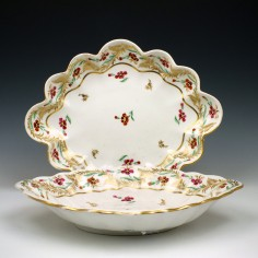 Derby Porcelain Dessert Dishes c1815