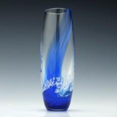 Scottish Caithness Glass Seascape Vase