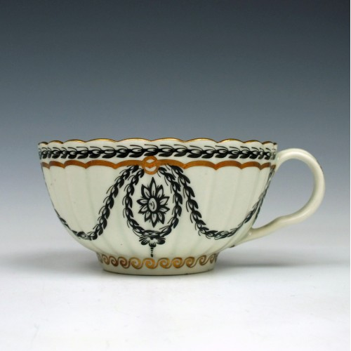 James Giles Decorated Worcester Teacup c1768 Ex-Perrins