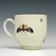 First Period Worcester Coffee Cup c1770