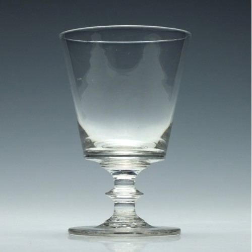 Georgian Bucket Bowl Glass Rummer c1830