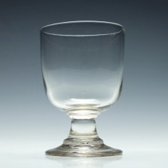 Large 19th Century Tavern Rummer Glass c1860