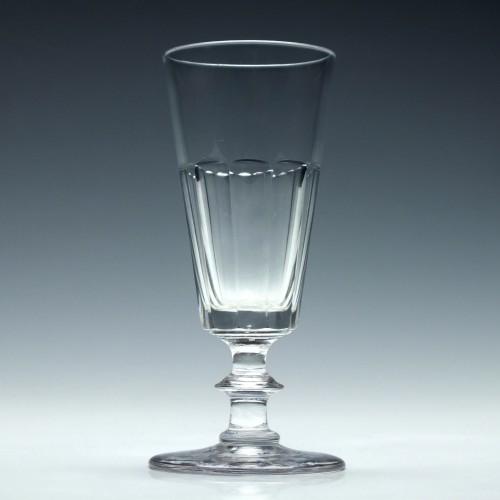 Georgian Slice Cut Ale Glass c1830