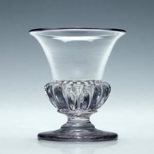 William IV Gadrooned Jelly Glass c1830