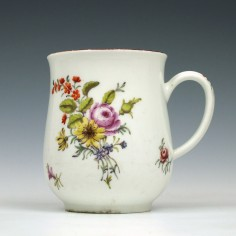 Chelsea Porcelain Red Anchor Mug c1755