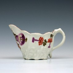 Lowestoft Tulip Painter Low Chelsea Ewer c1785