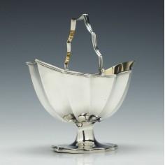 Georgian Silver Sugar Basket London 1793