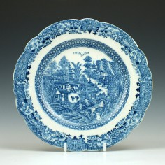 Caughley Full Nanking Pattern Plate c1780