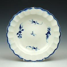 Caughley chantilly Sprigs Pattern Plate c1790