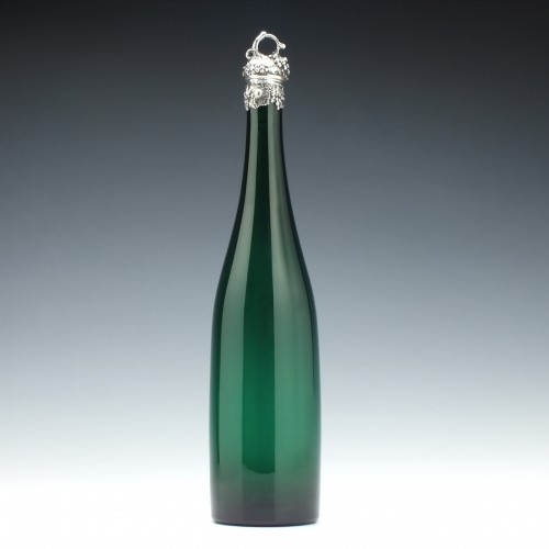 Victorian Green Serving Bottle c1860