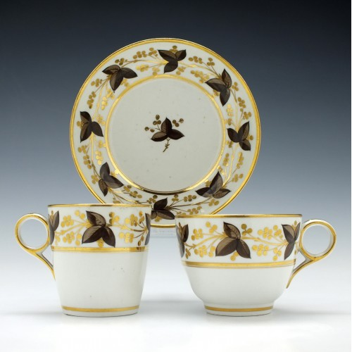 Chamberlains Worcester Pattern 379 Trio c1810