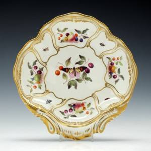 Derby Porcelain Shell Dish c1815