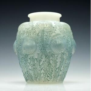 Rene Lalique Domremy Vase Marcilhac 979