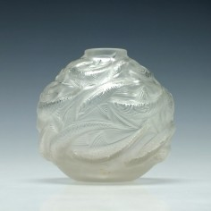 Rene Lalique Oleron Vase Designed 1927