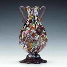 Salviati Murrine Glass Vase c1950