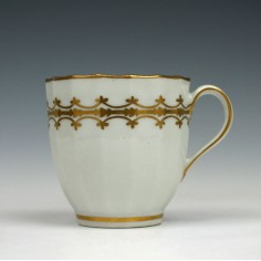 New Hall Porcelain Pattern 81 Coffee Cup c1800