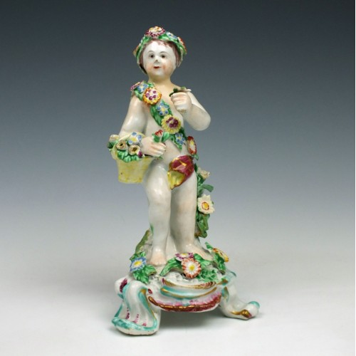Bow Porcelain 'Putti Figure' c1765