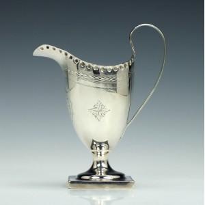 George III Silver Cream Jug Chester 1812