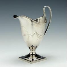 George III Silver Cream Jug London 1795