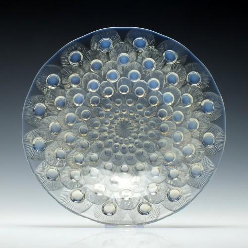Rene Lalique 'Plumes De Paon' Glass Dish c1932