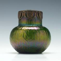 Kralik Glass Posey Vase c1900