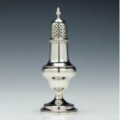 Thomas Shepherd Silver Caster London 1787