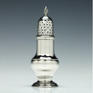 George III Silver Pepper London 1765