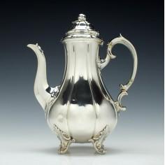 Victorian Silver Coffee Pot London 1840