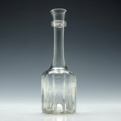 Georgian Modified Cruciform Glass Decanter c1740