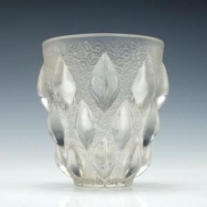 Rene Lalique Rampillon Vase Marcilhac 991