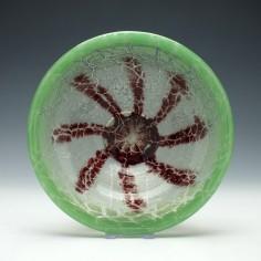 Art Deco WMF Ikora Glass Bowl c1930
