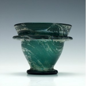 Byzantine Green Glass Cup 1st to 5th Century