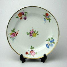 Swansea Porcelain Dessert Plate c1820 -Was £325