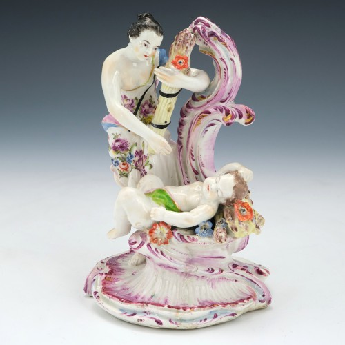 A Bow Figural Group Of Ceres Classical Four Seasons Group c1765