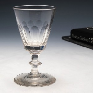 A Mid 19th Century Gin Glass c1850