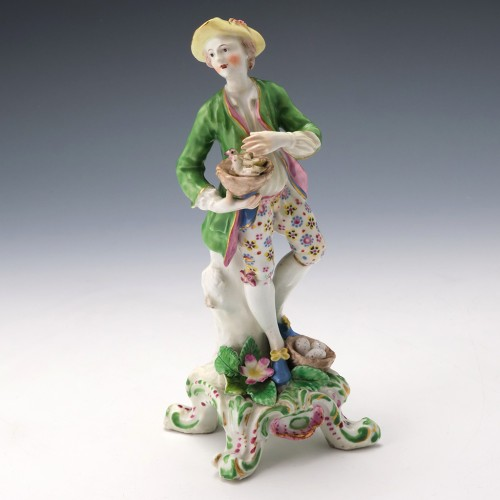 Bow Porcelain Figure Allegory Of Liberty c1765