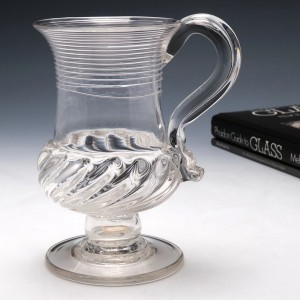 William IV Glass Coin Tankard 1836-37