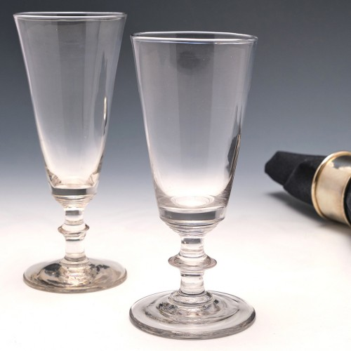 Two 19th Century Ale Glasses c1830