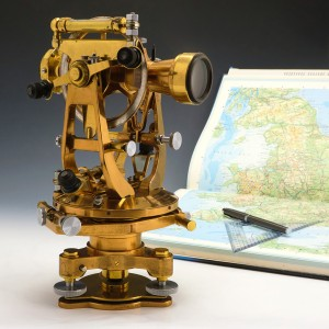 Brass Theodolite by Cooke, Troughton & Simms Ltd c1935