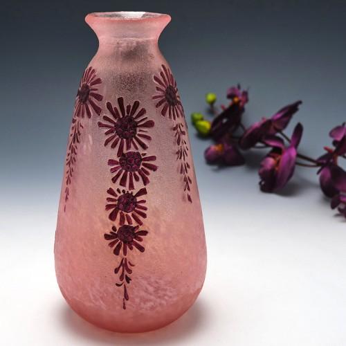 Signed Legras Art Deco Vase c1925