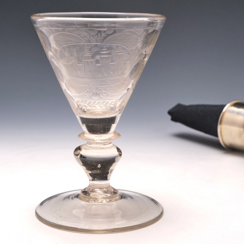 Engraved Trichter Pokal c1690